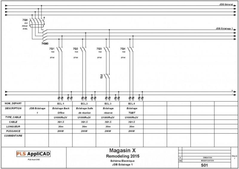 Schema depart pls applicad conception automatis e de - Schema electrique refrigerateur no frost ...